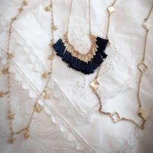 Jewelry - 5/$75 Bundle of Gold Necklaces
